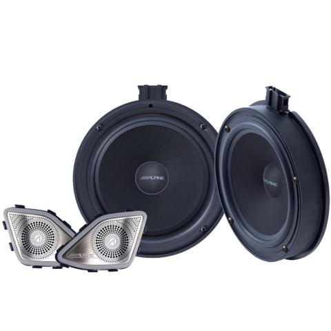 Alpine 2-weg 16.5cm speakersysteem voor VWT6.1(1x)