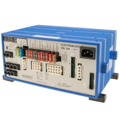 Schaudt EBL 226 C + OVP 230V 12V 18A (1x)
